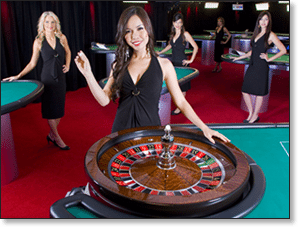 Live dealer online roulette for Australians