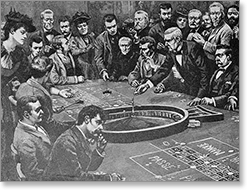 French roulette in the 1800s