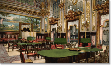 French roulette Monte Carlo Casino