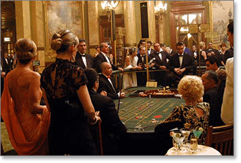 French roulette at Casino de Monte-Carlo