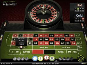 NetEnt roulette dozen bet