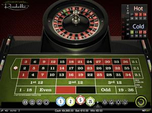European roulette by NetEnt
