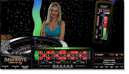 Guts Live Dealer Roulette