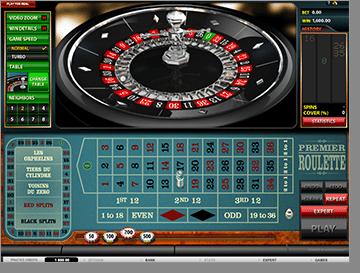 Roulette six line system