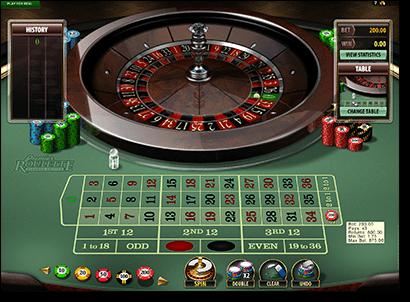 Roulette Inside Odds