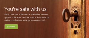 neteller ewallet security