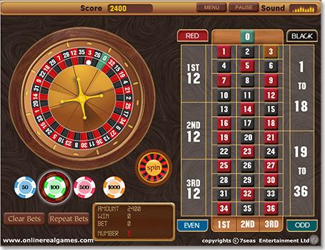 practice roulette casino game