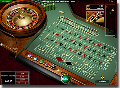 Play real money online roulette
