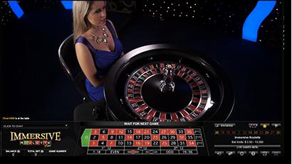 Leo Vegas immersive roulette live