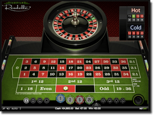 Mobile and desktop European Roulette by NetEnt