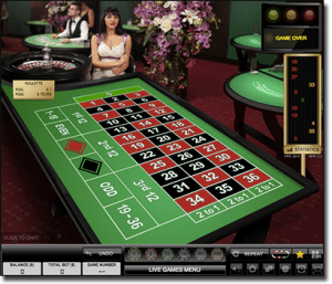 Evolution Gaming live dealer roulette online