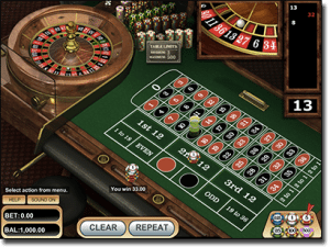 BetSoft 3D roulette games