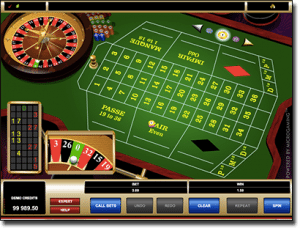 Microgaming French Roulette online