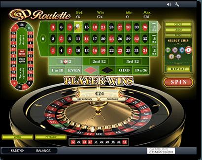 free european roulette playtech
