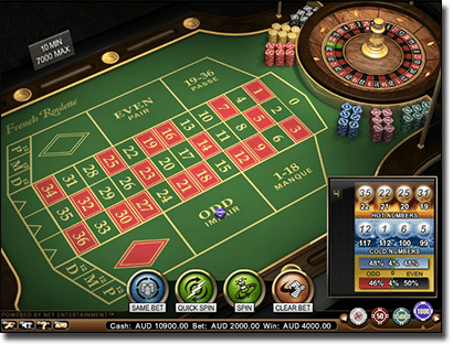Best NetEnt French roulette high limit