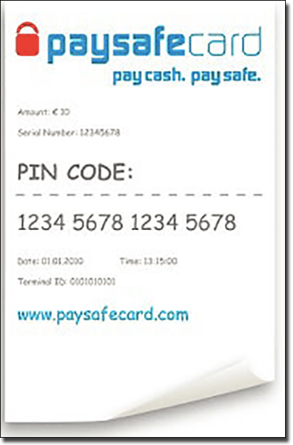 what is paysafecard used for