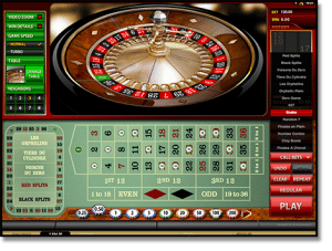 French roulette online call bets