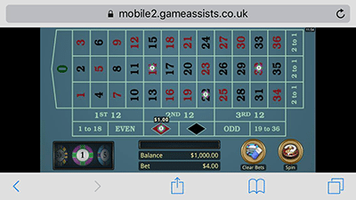 Microgaming roulette gold series