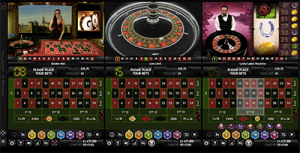 Multi-wheel roulette by Extreme Gaming