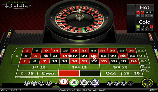 Practice play no download online roulette