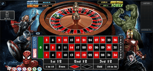 Marvel Roulette at BGO Casino