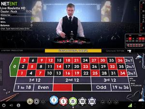 NetEnt live dealer online roulette