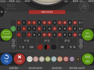 Felt Gaming mobile roulette at G'Day Casino