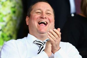 Mike Ashley - lucky roulette winner
