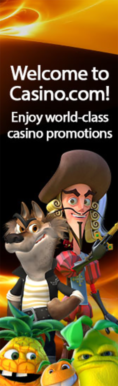 Casino.com regular promotions and bonuses