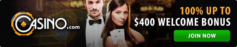 Casino.com welcome bonus