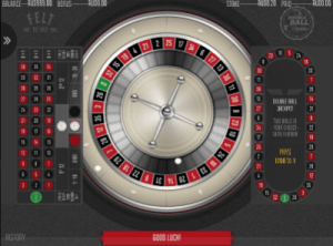 Double Roulette Wheel and table layout