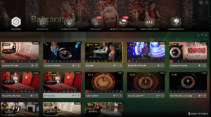 Live dealer high limit VIP roulette by Evolution Gaming