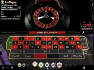 Live roulette Pro by NetEnt