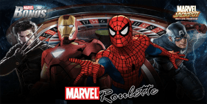 Marvel Roulette by Playtech gaming software