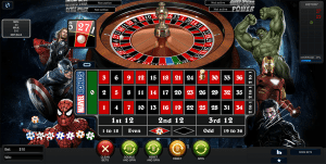 Marvel Roulette gameplay
