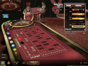 Microgaming live dealer roulette