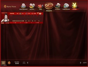 Microgaming live dealer roulette lobby