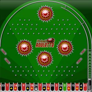 Pinball Roulette gameplay