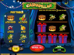 Microgaming's Cashapillar