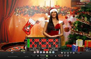 Christmas Roulette live dealer