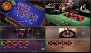 Evolution live dealer roulette