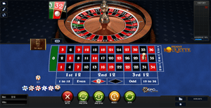 Penny Roulette betting options
